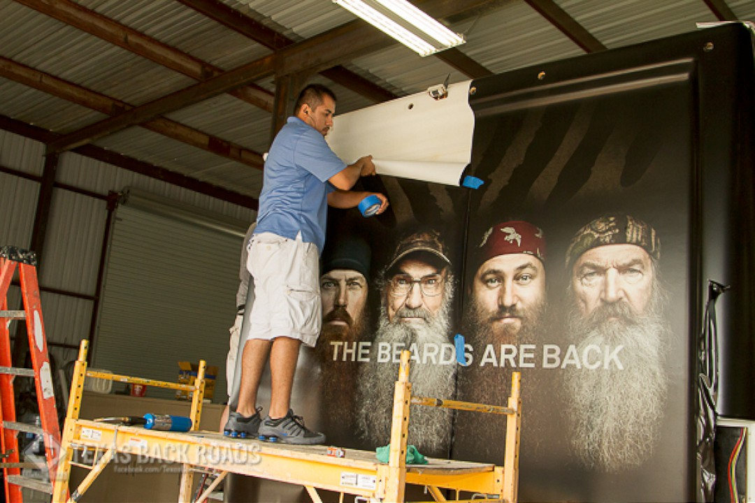 Duck Commander RV Wrap - Back Panel