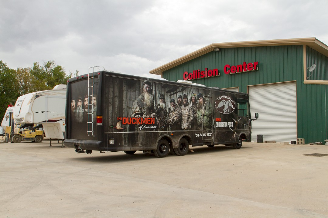 Duck Commander RV Rehab at All RV in Burleson