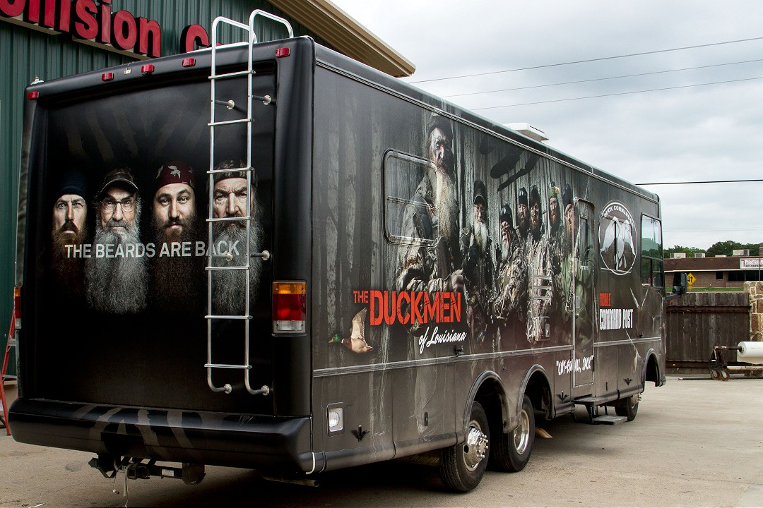 Duck Commander RV Rehab by All RV - Finished Product Back View