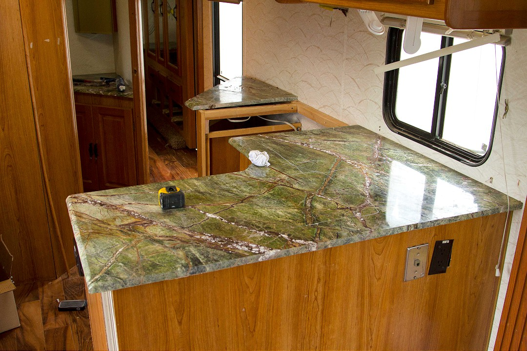 Custom Kitchen Upgrades with Granite Counter Top